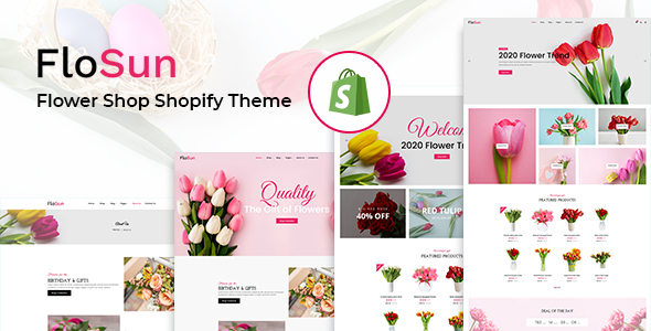 Flosun - Flower Shop Shopify Theme TFx