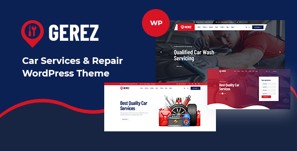 Gerez - Car Services amp Repair WordPress Theme TFx