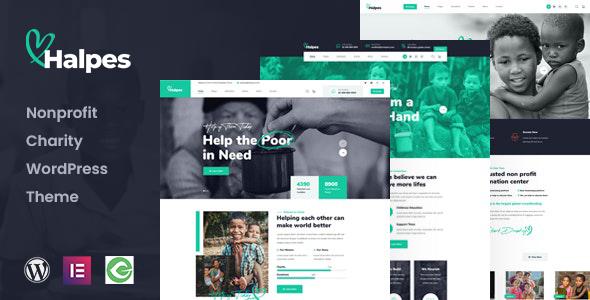 Halpes - Nonprofit Charity WordPress Theme TFx