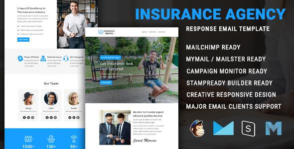 Insurance Agency - Multipurpose Responsive Email Newsletter Template TFx
