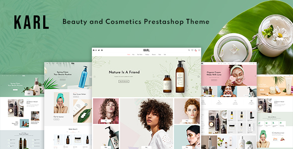 Karl - Beauty amp Cosmetics Prestashop 17 Theme TFx