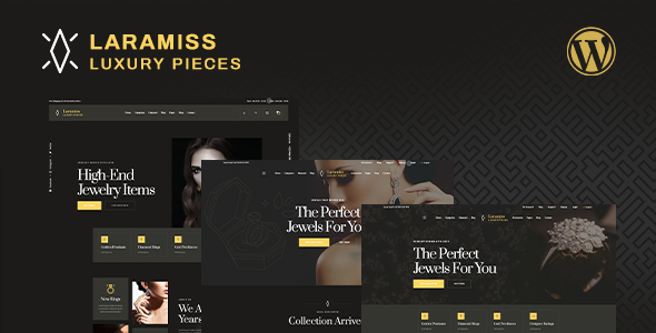 Laramiss  Multipurpose Luxury WordPress Theme TFx