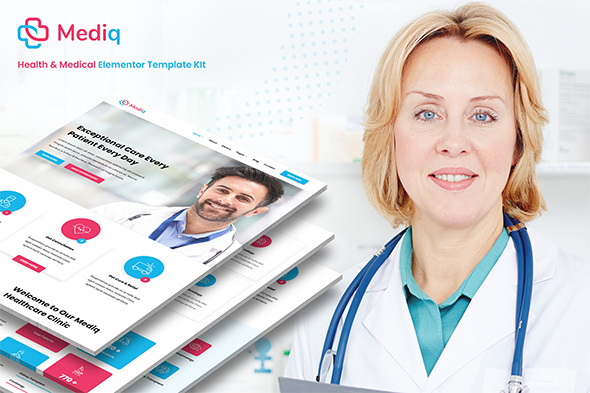 Mediq - Health amp Medical Elementor Template Kit TFx