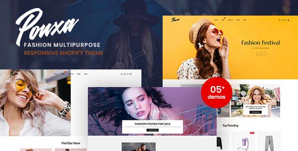 Pouxa - Fashion Multipurpose Responsive Shopify Theme TFx