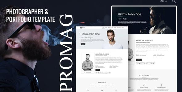 Promag - Personal Portfolio Template TFx