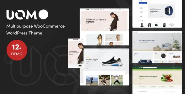 Uomo - Multipurpose WooCommerce WordPress Theme TFx