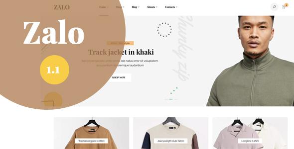 Zalo fashion - WooCommerce theme TFx WordPress