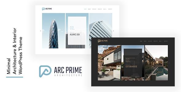 Arc Prime - Architecture WordPress Theme TFx