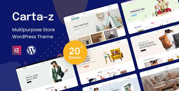 Cartaz - Multipurpose WooCommerce Theme TFx