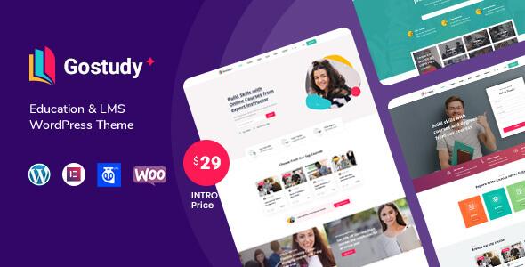 Gostudy - Education WordPress Theme TFx