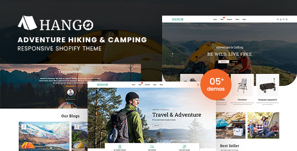 Hango - Adventure Store Hiking And Camping Shopify Theme TFx
