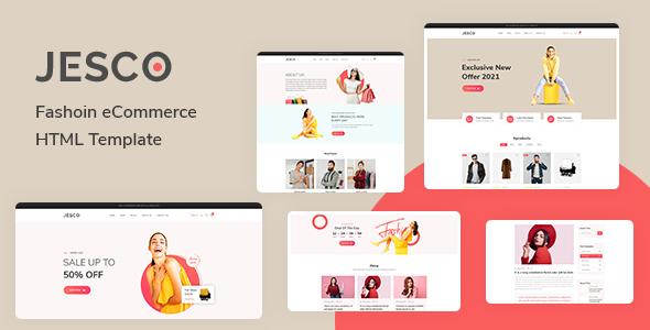 Jesco - Fashion eCommerce HTML Template TFx