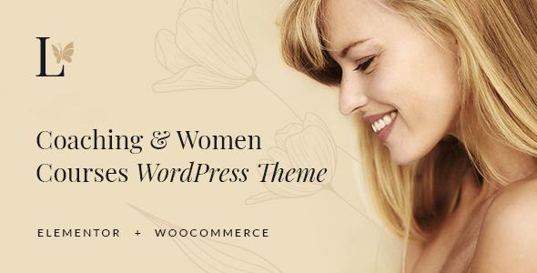 Lissa - Coaching amp Women Courses WordPress Theme TFx