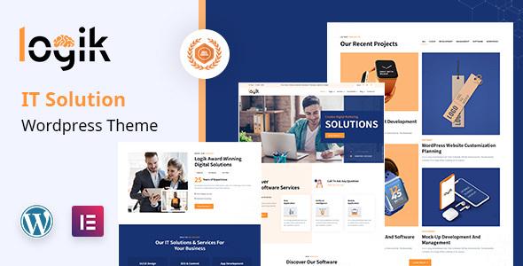 Logik  IT Services WordPress Theme TFx