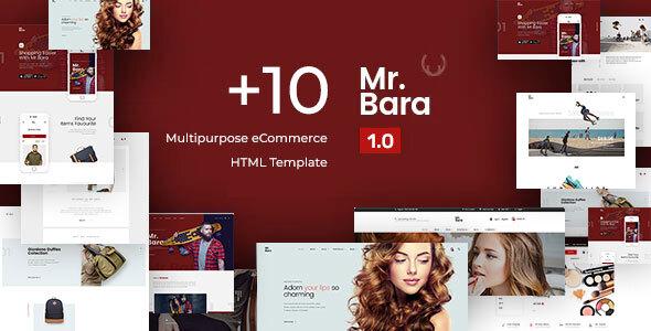 MrBara - Multipurpose eCommerce HTML Template TFx