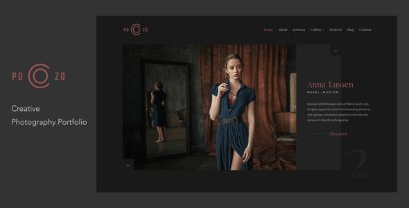 POZO - Photography Portfolio WordPress Theme TFx