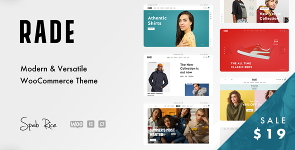 Rade - A Versatile WooCommerce Theme TFx