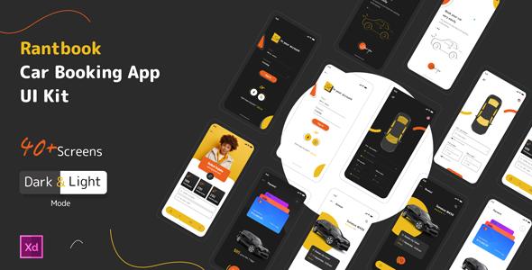 Rantbook - Car booking App Ui Kit TFx