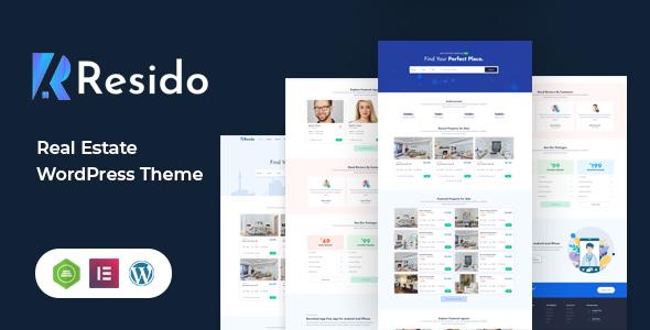 Resido - Real Estate WordPress Theme TFx