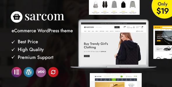 Sarcom - Fashion WooCommerce Theme TFx