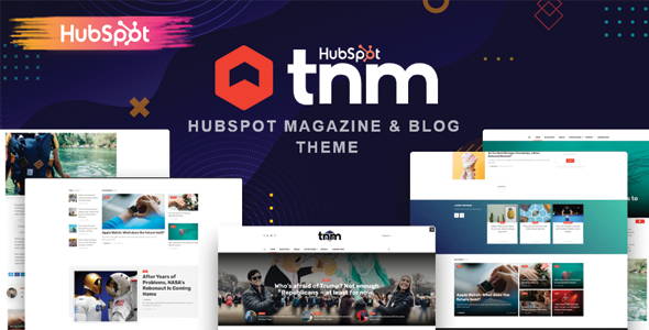 The Next Mag - Blog and Magazine HubSpot Theme TFx