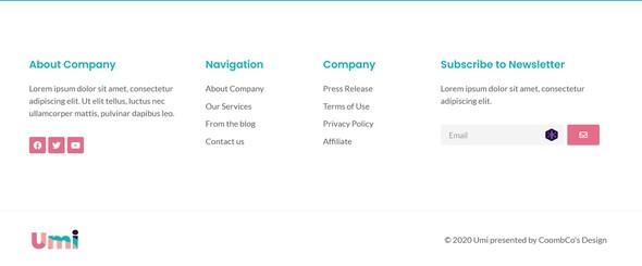 Umi - Web Design Agency Elementor Template Kit TFx