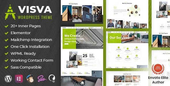 Visva - Architecture WordPress Theme TFx
