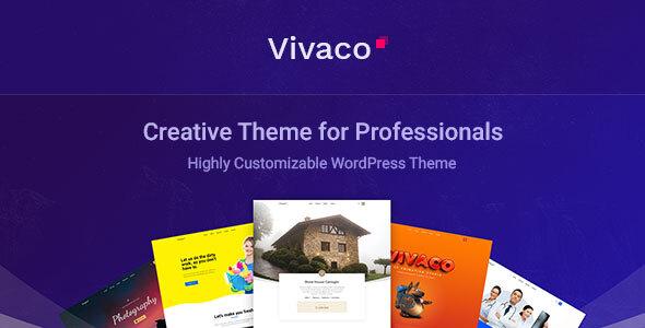 Vivaco  Multipurpose Creative WordPress Theme TFx