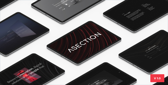 ASection – Bootstrap 5 Personal One Page HTML Template TFx