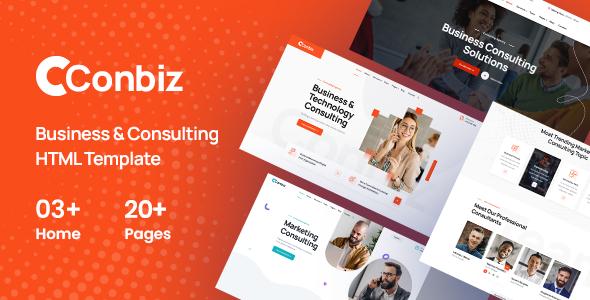 Conbiz - Consultancy amp Business HTML Template TFx