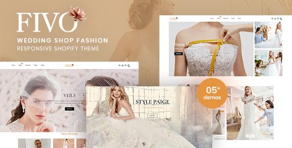 Fivo – Wedding Shop Fashion Responsive Shopify Theme TFx