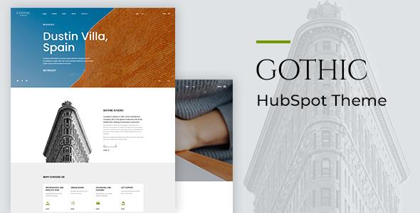 Gothic - Architecture HubSpot Theme TFx