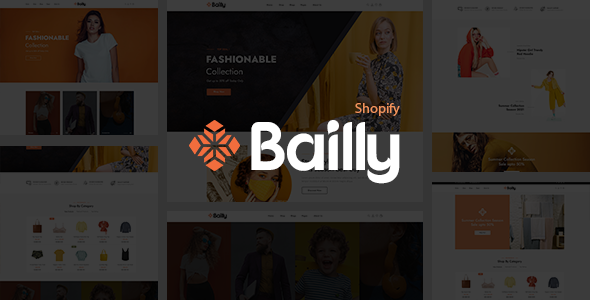 Gts Bailly - Multipurpose Sections Shopiy Theme TFx