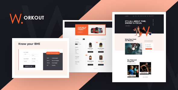 JD Workout – Gym amp Fitness Joomla Template with Online Store TFx