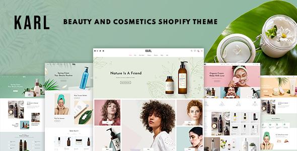 Karl - Beauty amp Cosmetics Shopify Theme TFx