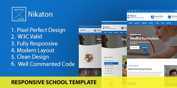 Nekaton - Responsive School Template TFx