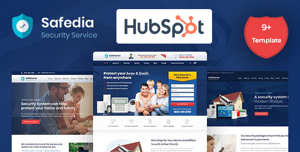 Safedia- Home Security HubSpot Theme TFx
