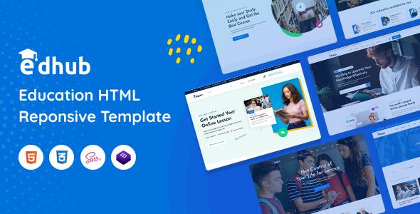 Edhub – Education HTML Template TFx SiteTemplates