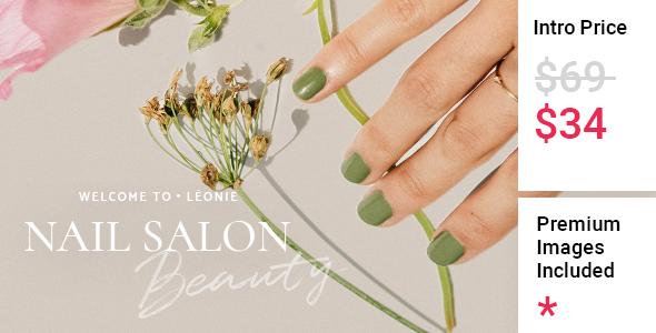 Lonie - Nail and Beauty Salon TFx WordPress