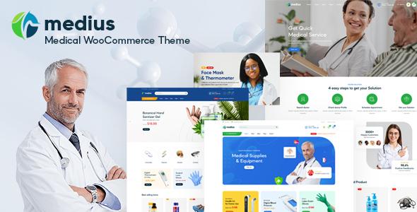Medius  Medical amp Health WooCommerce Theme TFx