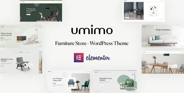 Umimo - Furniture Store WordPress Theme TFx