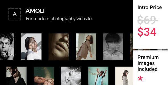 Amoli - Fashion Photography Theme TFx WordPress