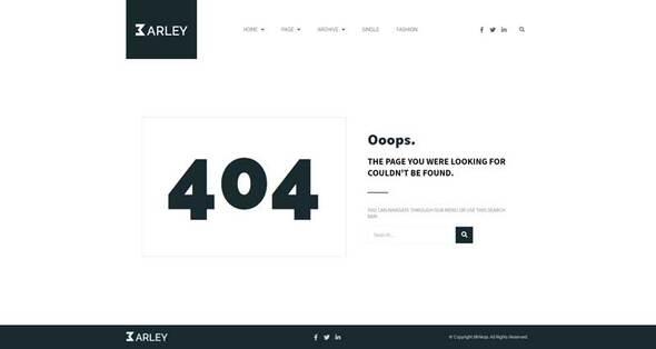 Barley - Blog amp Magazine Elementor Template Kit TFx