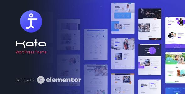Kata - Elementor WordPress Theme TFx WordPress