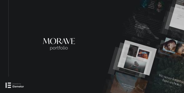 Morave - AJAX Portfolio WordPress Theme TFx
