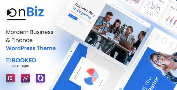 Onbiz – Consulting Business and Finance WordPress TFx