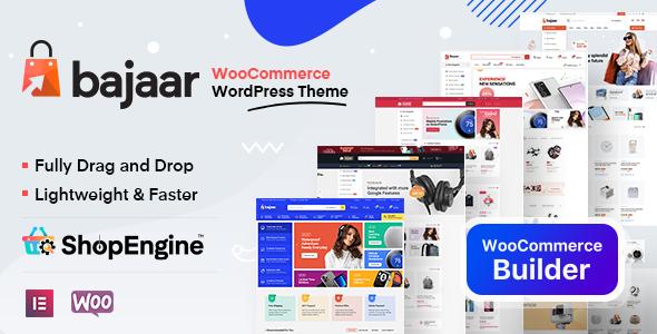 Bajaar - Highly Customizable WooCommerce WordPress Theme TFx