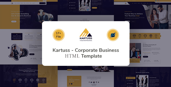 Kartuss Corporate Business HTML Template TFx