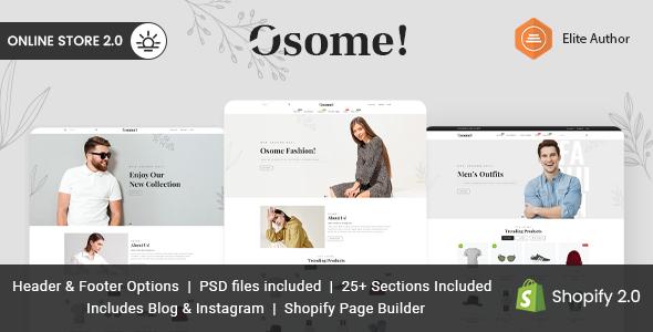 Osome – Multipurpose Shopify Theme TFx Shopify